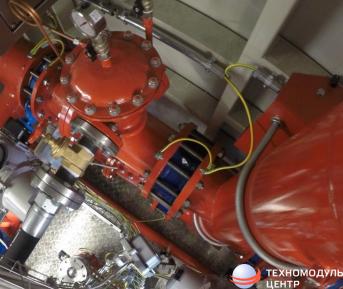 агрегатный модуль пожаротушения